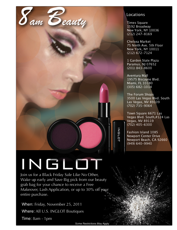 Inglot-Black-Friday-Sale