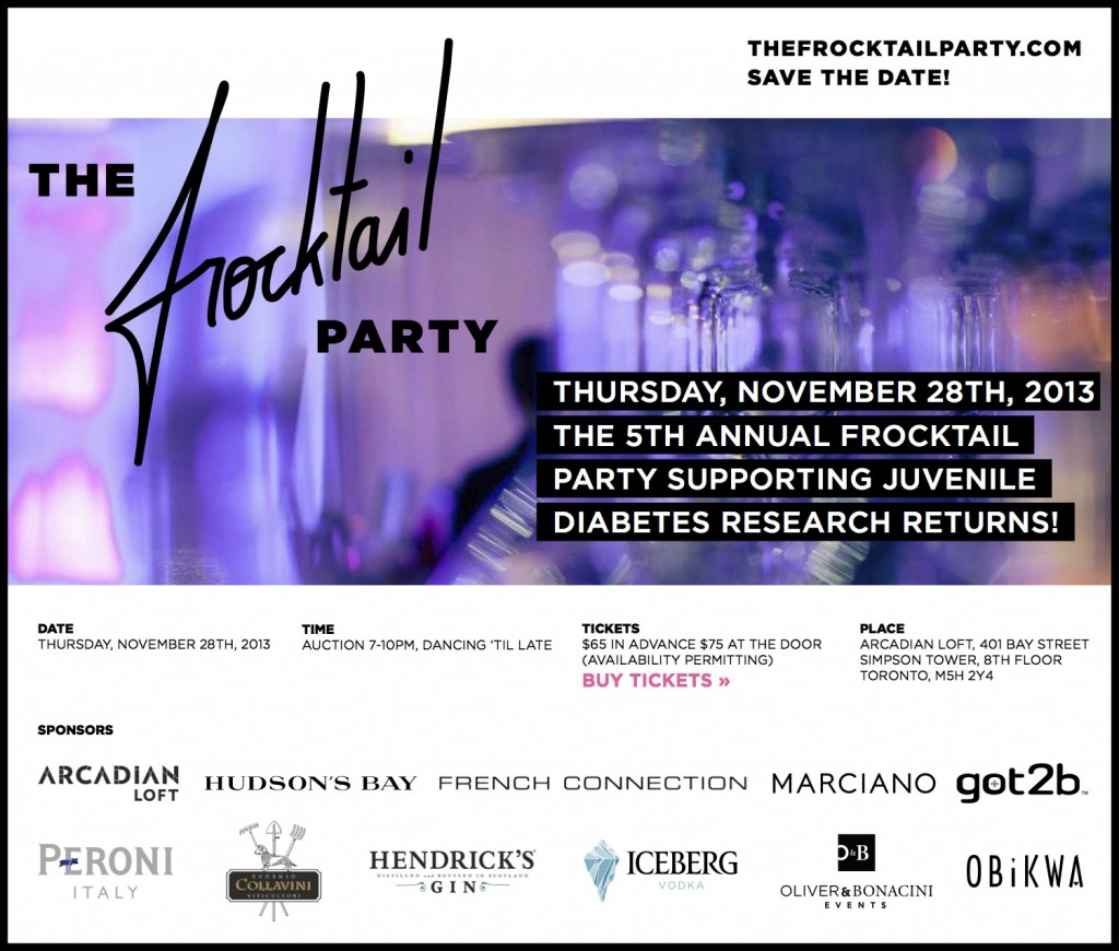 Frocktail Invite