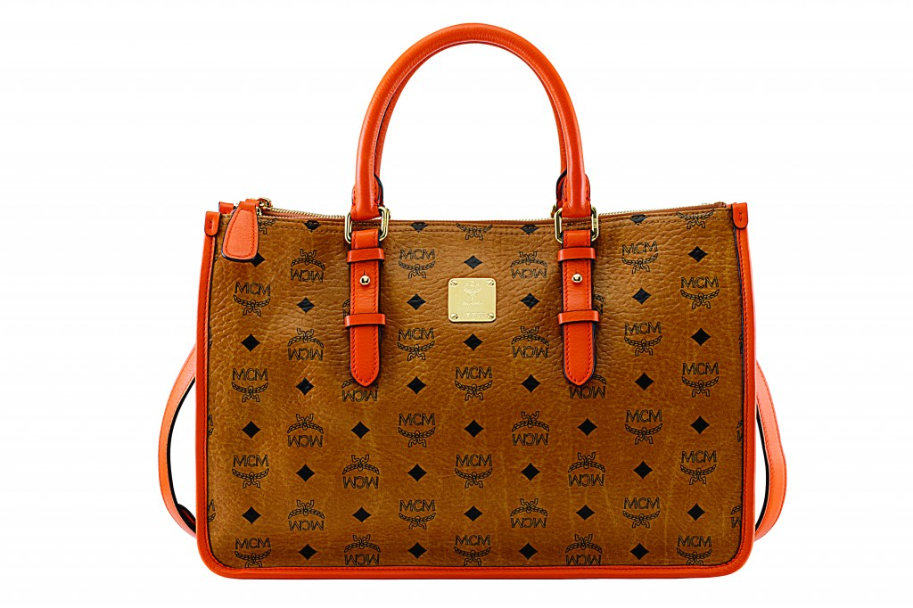 MCM Signature Tote(Previously $795, Now $557)