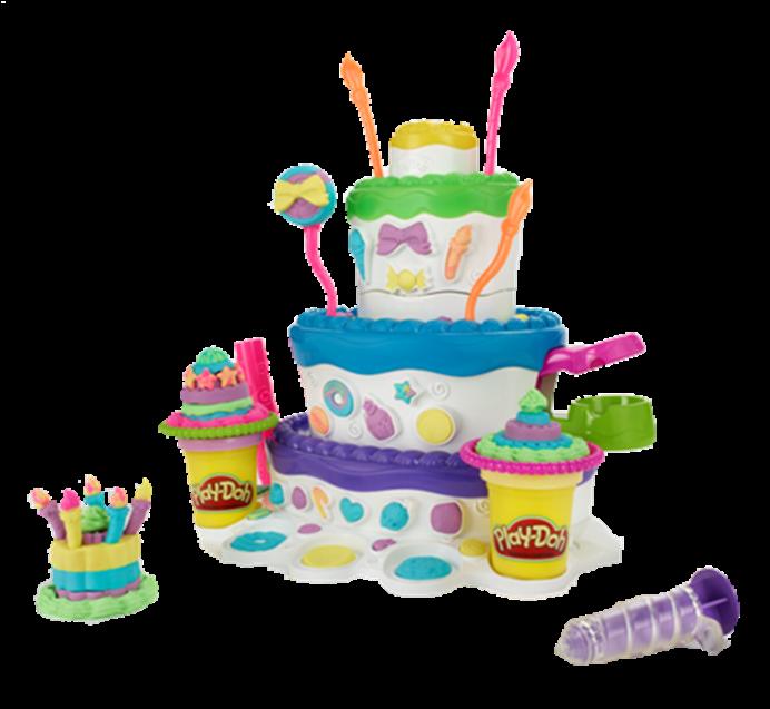 PLAY-DOH CAKE MOUNTAIN Playset