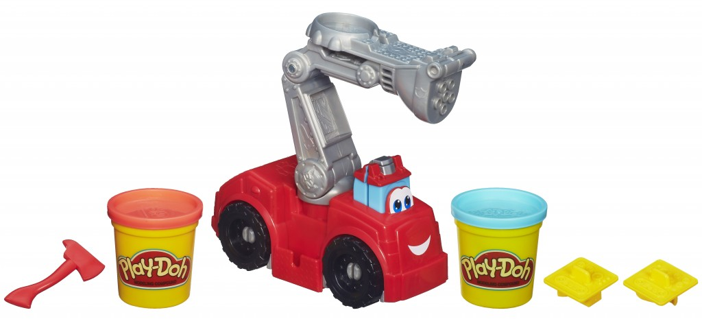 PLAY-DOH DISNEY DIGGIN' RIGS BOOMER THE FIRE TRUCK Playset