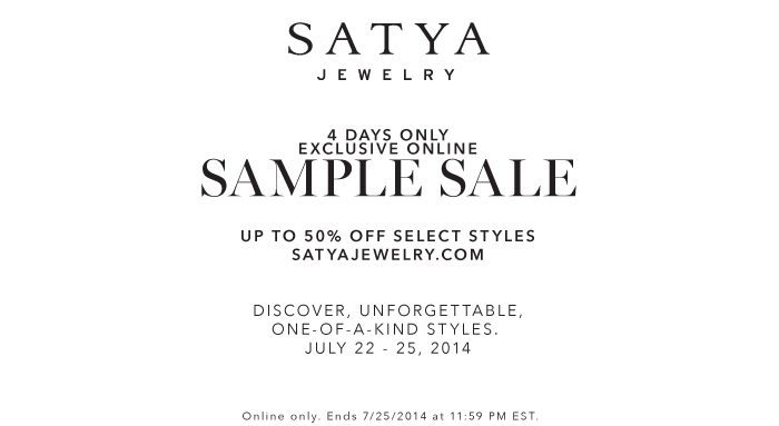 SATYA ONLINE SAMPLE SALE