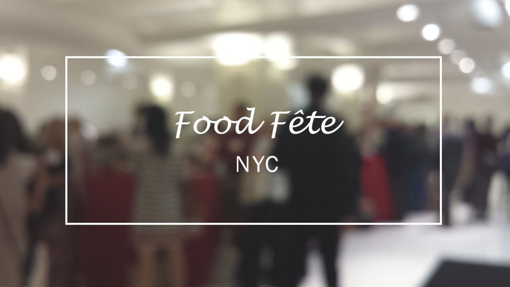 food fete cover
