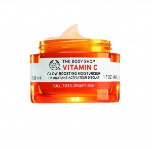TBS - Vitamin C Glow Boosting Moisturiser (open)