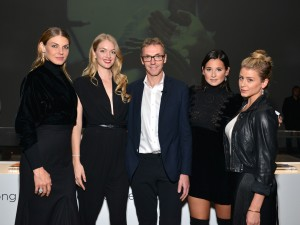 Angela Lindvall, Lindsay Ellingson, Charles Stanley, Danielle Bernstein, Lo Bosworth== Forevermark Celebration of 'A Diamond is Forever'== 711 Greenwich St, NYC== October 28, 2015== ©Patrick McMullan== Photo - Jared Siskin/ PMC==