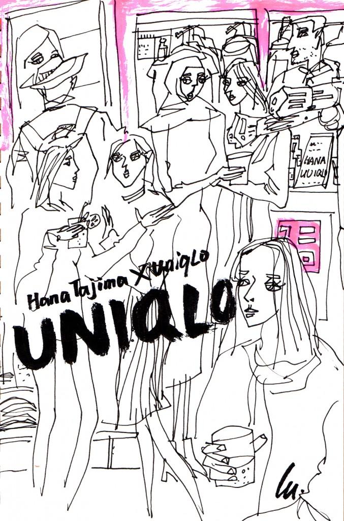 Hana Tajima x UNIQLO