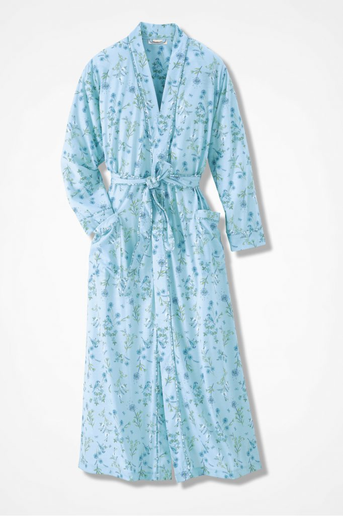 Coldwater Creek Early Bird Knit Robe