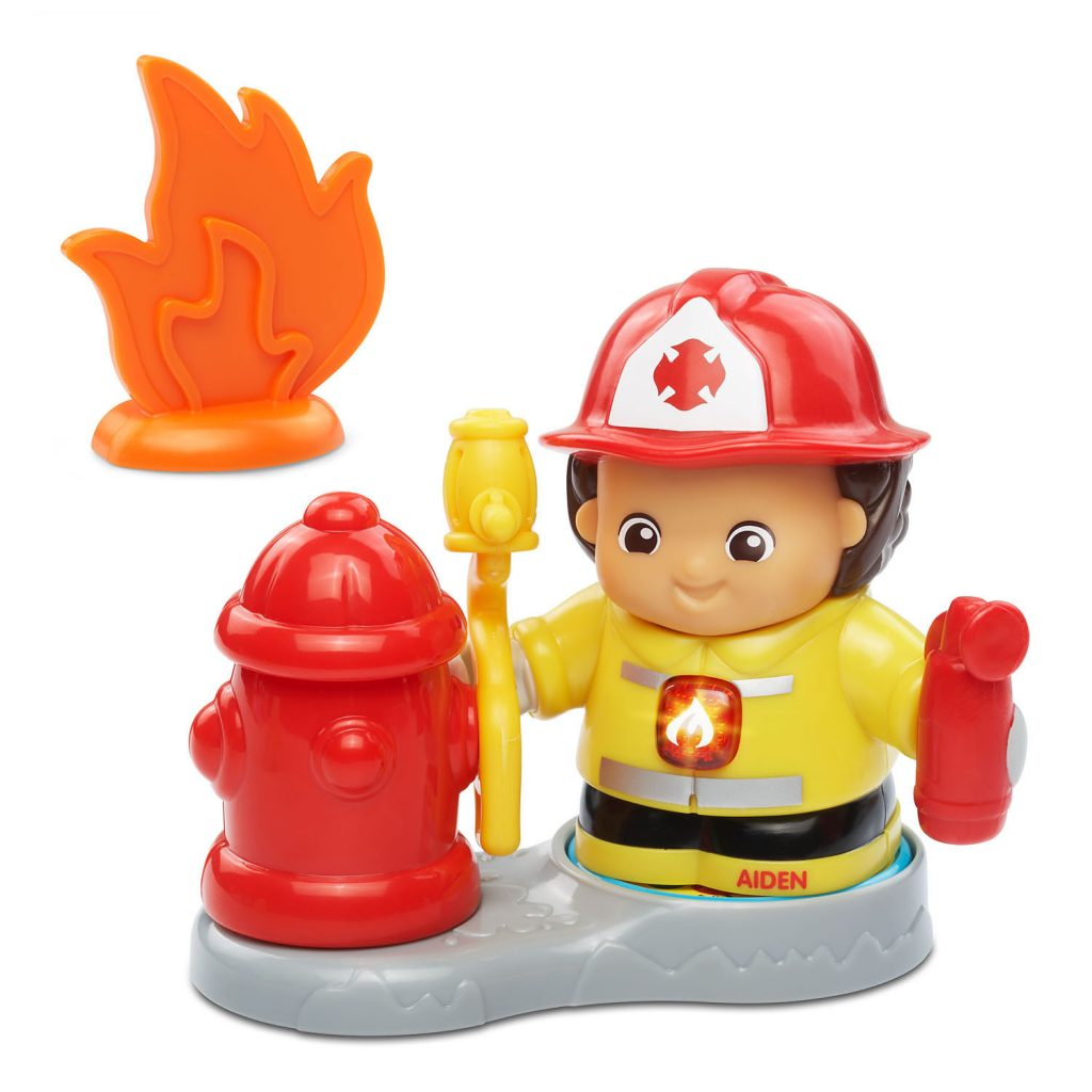 Go! Go! Smart Friends Firefighter Aiden & his Fire Rescue Set